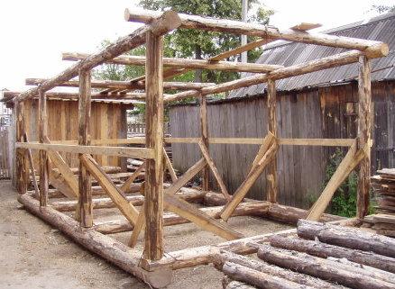 Деревянные постройки своими руками