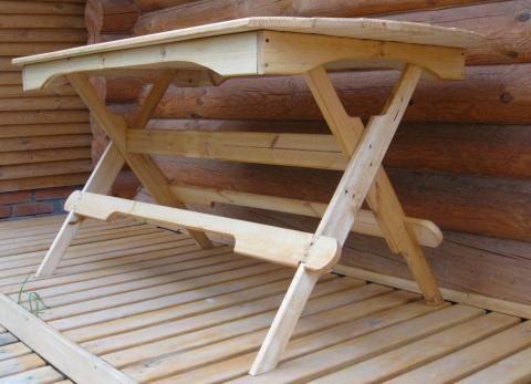 Дачная мебель из дерева своими руками фото
