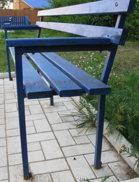 Изготовление скамеек из металла своими руками